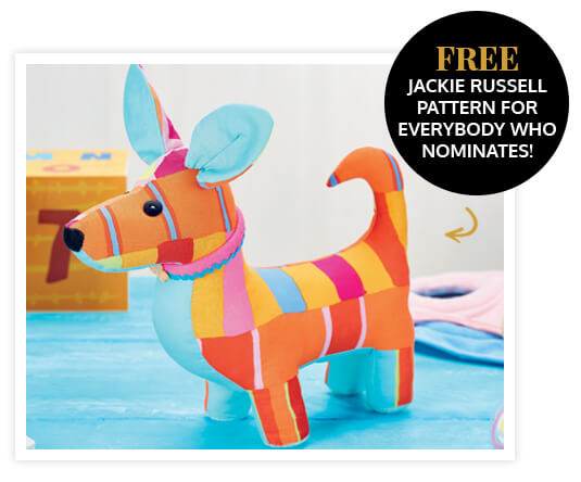 FREE Jack Russell pattern and instructions!