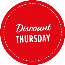 Discount Thursday