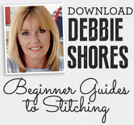 Download Debbie Shore's Beginner Guides to Stitching