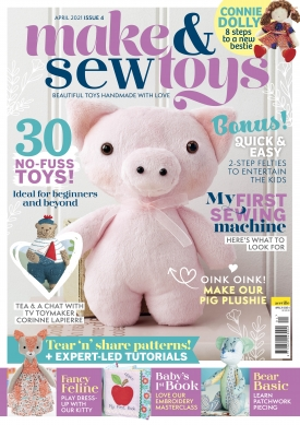Make & Sew Toys: Issue Four Template Pack