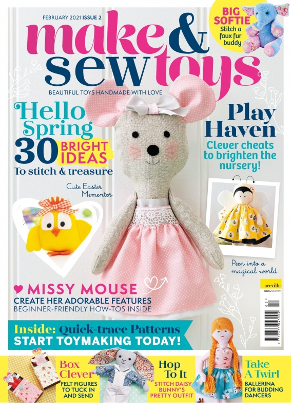 Make & Sew Toys: Issue Two Template Pack