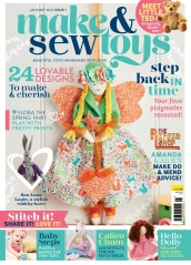 Make & Sew Toys: Issue One Template Pack