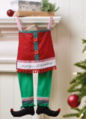 Sew 143 November 20 Elf Legs Stocking