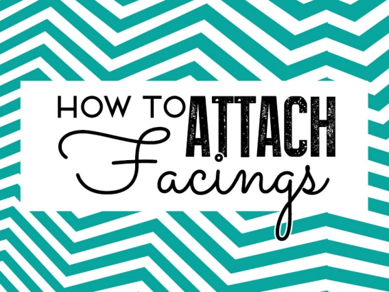 How to attach facings