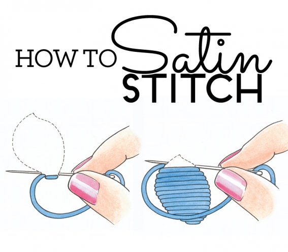 How to do satin stitch