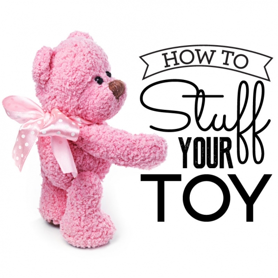 How to stuff your toy
