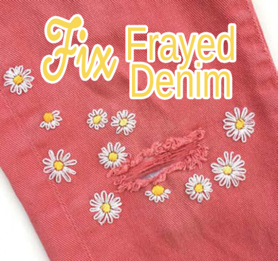 Fix Frayed Denim