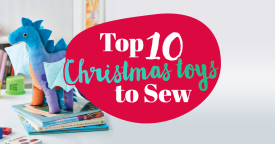 Top 10 Christmas toys to sew!