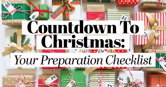 Countdown To Christmas: Your Preparation Checklist