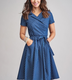 Classic Tie-Belt Dress