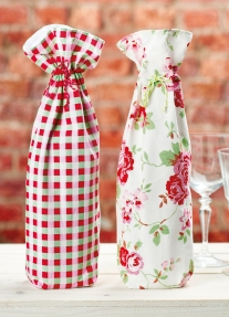 Wine Bottle Drawstring Covers