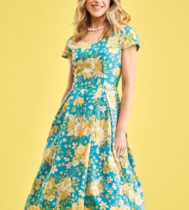 Vintage-Style Flair Dress