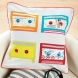 Retro Mixtape Cushion