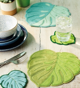 Leafy Table Set