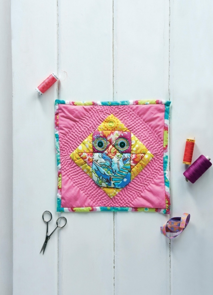 Patchwork Collectable Series: Owl Block