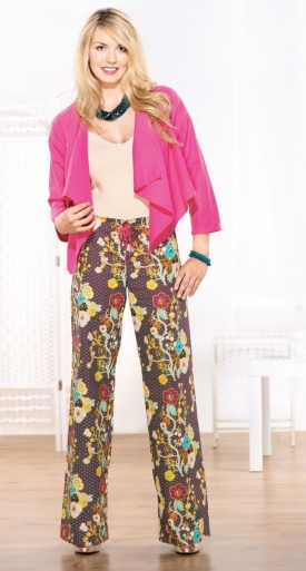 Comfy Patterned Trousers