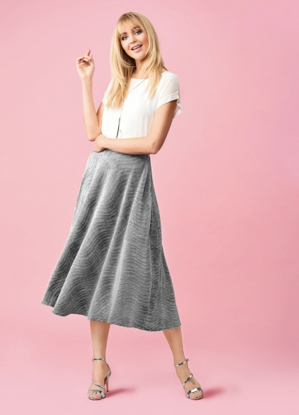 Skylar Pleated Skirt