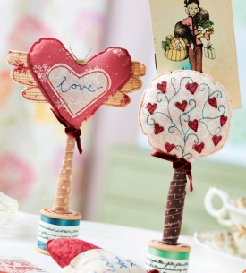 Vintage Heart-shaped Photo Holders