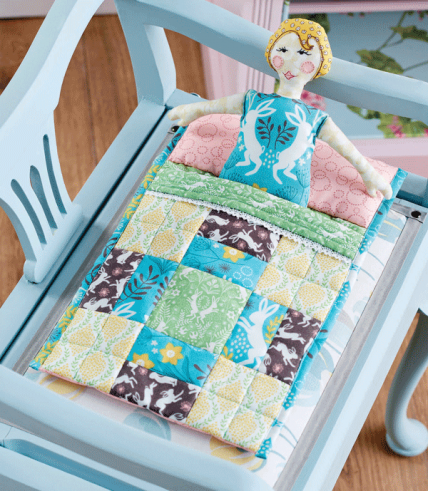 Dolly & Patchwork Bed