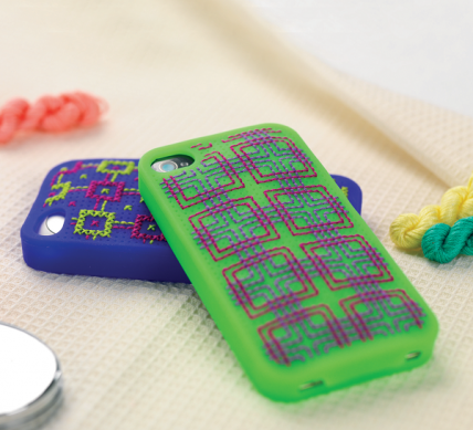 Embroidered Phone Case