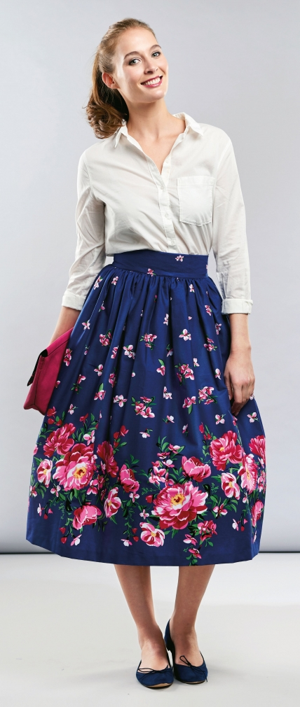 Gathered Skirt