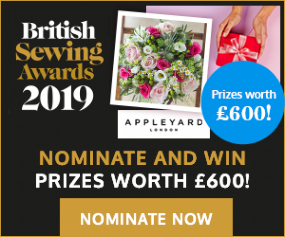 British Sewing Awards 2019 - Nominate Now