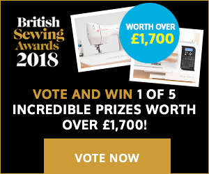 British Sewing Awards 2018 Voting