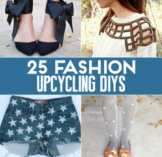 25 quick and easy fashion upcycling diys sewing blog sew magazine