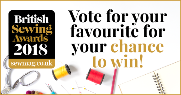 4 reasons to vote in the British Sewing Awards