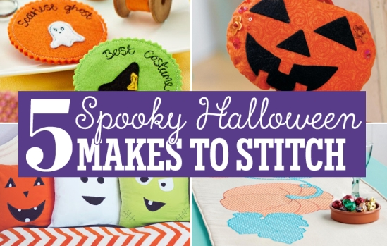 5 Spooky Halloween Makes To Stitch