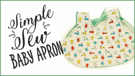 Sew a Simple Baby Apron