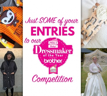 Just SOME Of Your Entries To Our Dressmaker of the Year Competition!