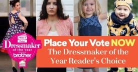 Place Your Vote NOW – The Dressmaker of the Year Reader's Choice