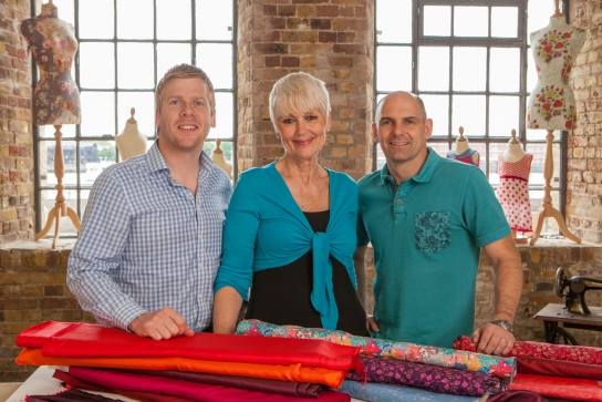 """I applied for the Sewing Bee as a dare!"" Sew meets finalist, Lorna"