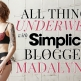 All Things Underwear with Simplicity Blogger Madalynne