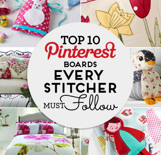 Top 10 Pinterest Boards EVERY Stitcher Must Follow
