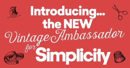 Introducing the NEW Vintage Ambassador for Simplicity
