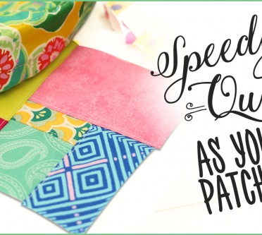 Watch our SPEEDIEST Quilt-As-You-Go Video!