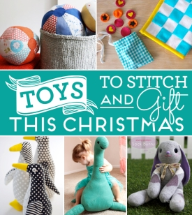 Toys to stitch and gift this Christmas