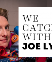An interview with The Great British Sewing Bee host Joe Lycett