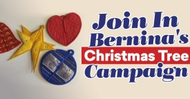 Join In Bernina's Christmas Tree Campaign