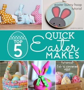 Top 5 quick Easter makes