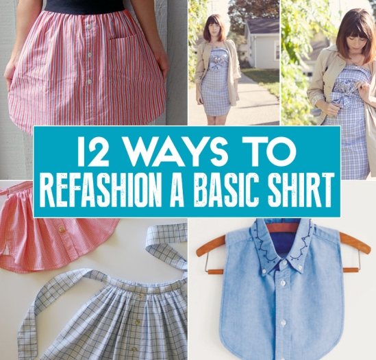 12 Ways To Refashion, Reuse, Rework, And Reimagine A Basic Mens