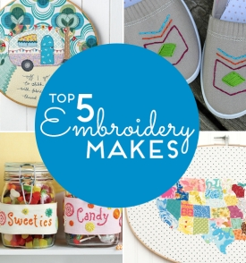 Top 5 Embroidery Makes