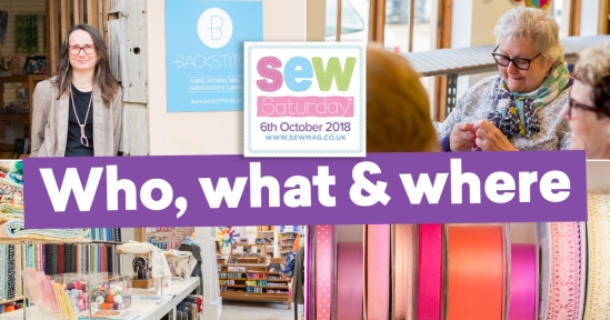 Sew Saturday: who, what & where