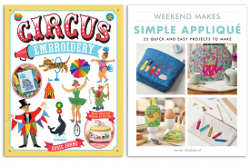 Embroidery and appliqué book bundles