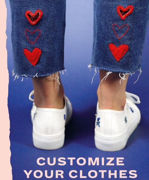 Customize your Clothes book