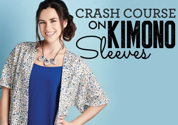 Crash course on kimono sleeves