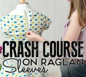 How to make raglan sleeves