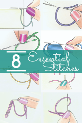 8 Essential Stitches